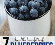 Health-Benefits-of-Blueberries on A Bowl Full of Lemons link party