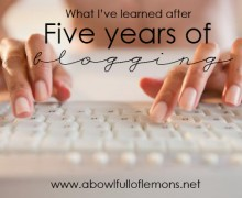 What I've learned from five years of blogging via ABFOL