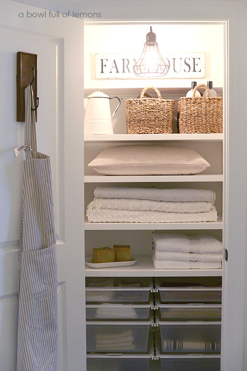 Farmhouse Closet Trends A Bowl Full Of Lemons