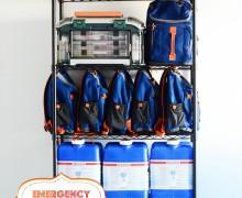 Emergency Preparedness Survival Station via A Bowl Full of Lemons