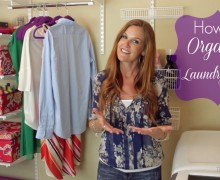 How to organize a laundry room via One Project at a Time ABFOL