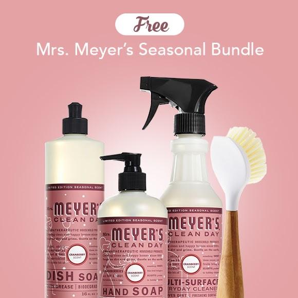 mrs meyers seasonal bundle