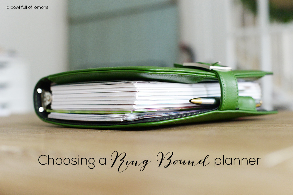 image regarding Planner Binders called Picking out a Ring sure Planner A Bowl Complete of Lemons