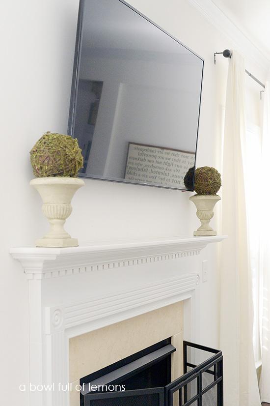 Home Organization 101 Challenge The Living Room Via A Bowl Full Of Lemons