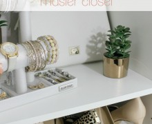 Master Closet Organization via One Project at a Time