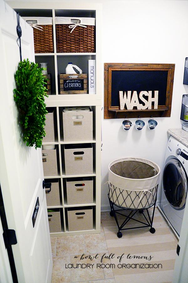 home challenge week 13 laundry room