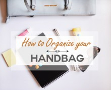 Handbag Organization via A Bowl Full of Lemons One Project at a Time