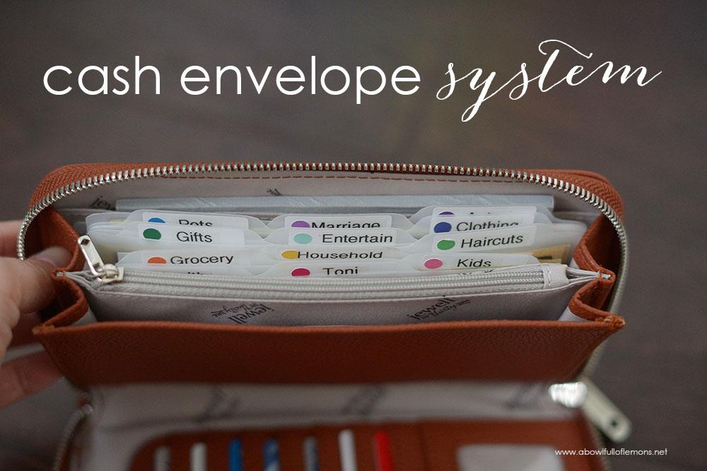 the cash envelope system a bowl full of lemons