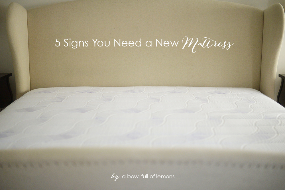 Gentil 5 Signs You Need A New Mattress Via A Bowl Full Of Lemons