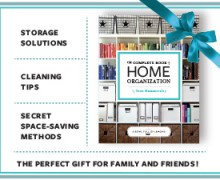 The Complete Book of Home Organization Giveaway via  A Bowl Full of Lemons