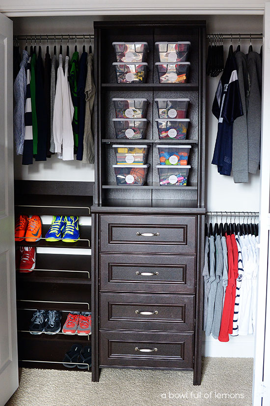 Organizing Challenge Kids Closets