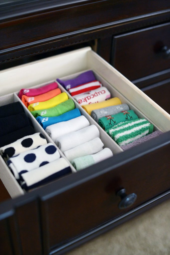 I Use Drawer Organizers To Coral Socks U0026 Undergarments. I Found These From  TJ Maxx.