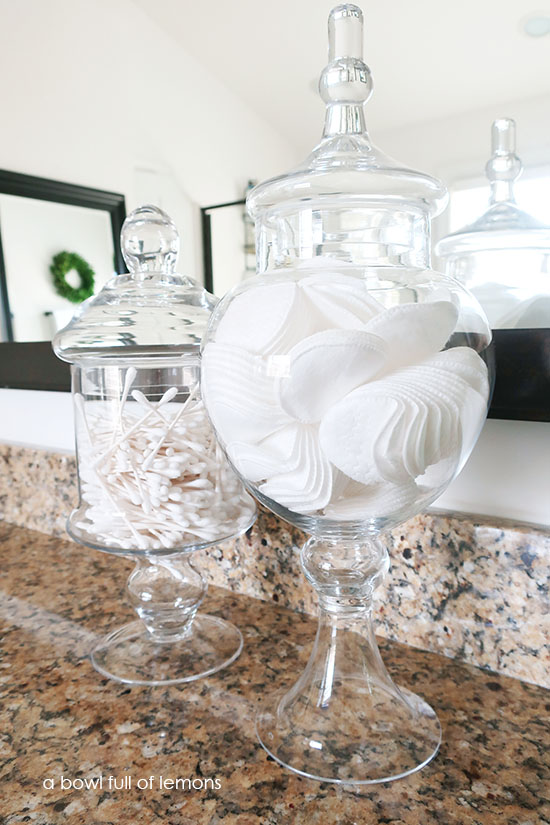 Theyu0027re The Perfect Place To Store Cotton Pads And Q Tips. They Look Great  And Are A Simple Solution To Gain Extra Storage.