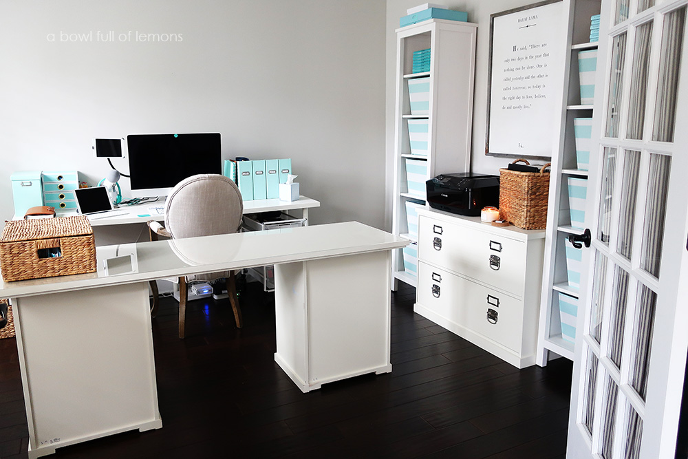 Home Office with Ikea Furniture