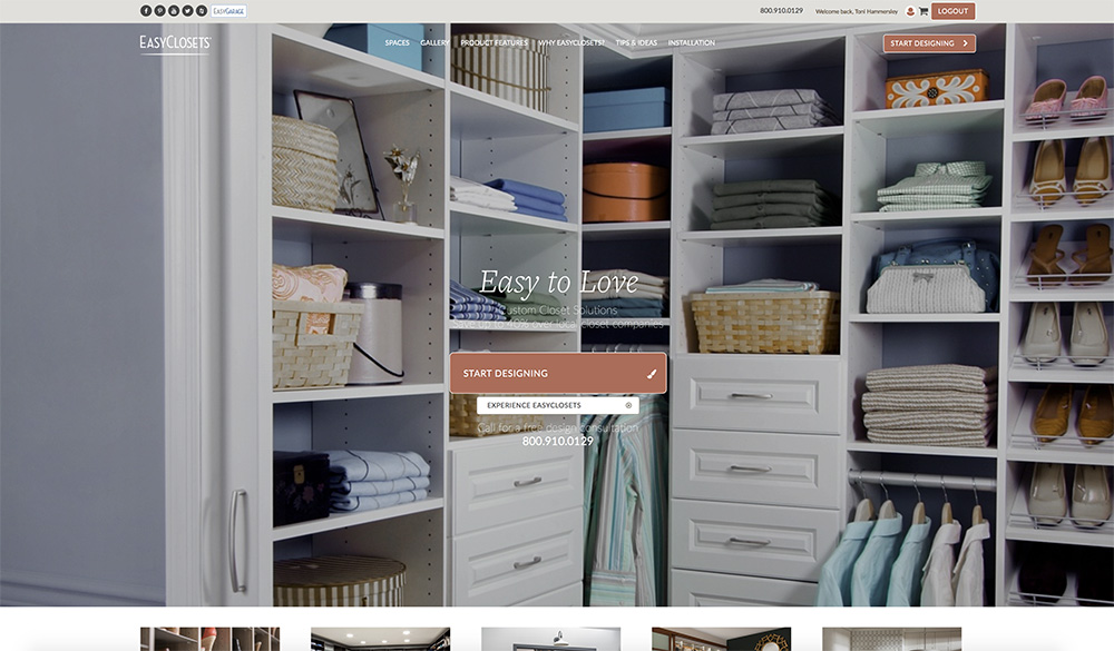 You Can Create Your Own Design Or Have EasyClosets Help You Out.