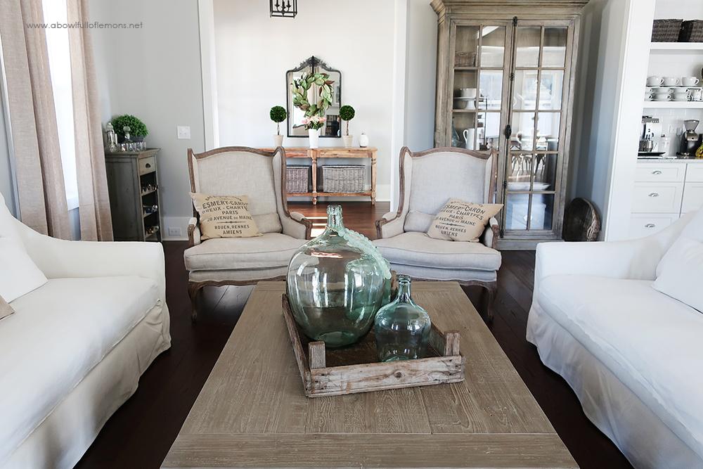 2019 Home Organization Challenge Week 5 Living Room A