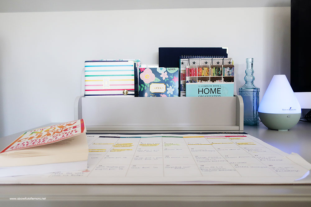 2019 Home Organization Challenge Week 11 The Office A