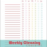 Weekly-Cleaning-Checklist