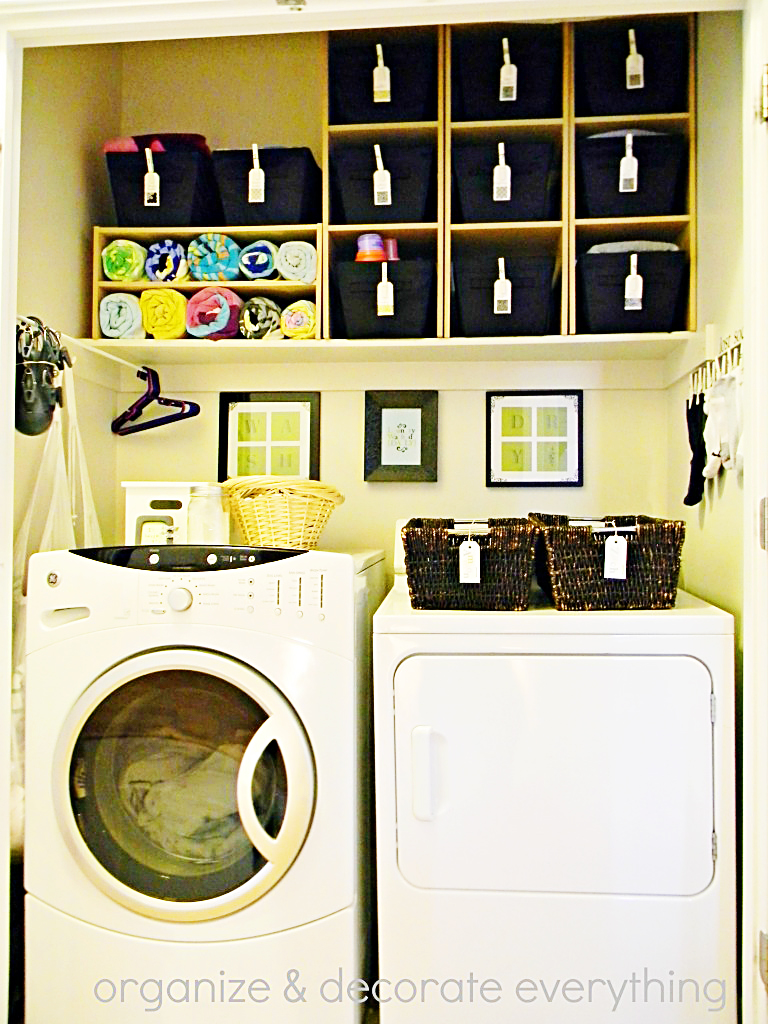 laundry room organization organized space of the week a bowl of lemons 12000