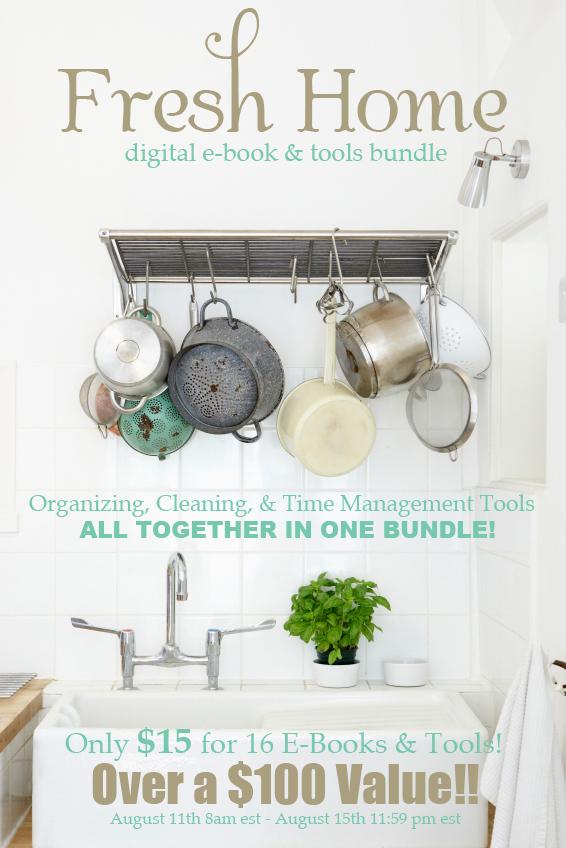 Fresh Home Ebook Bundle Ad
