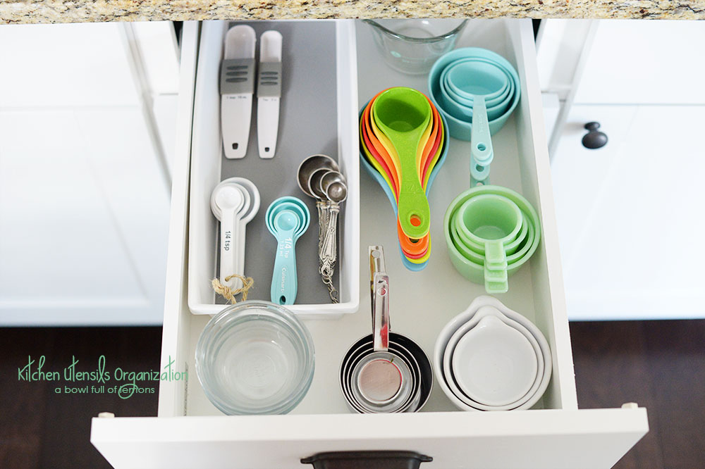 Kitchen Utensil Organization A