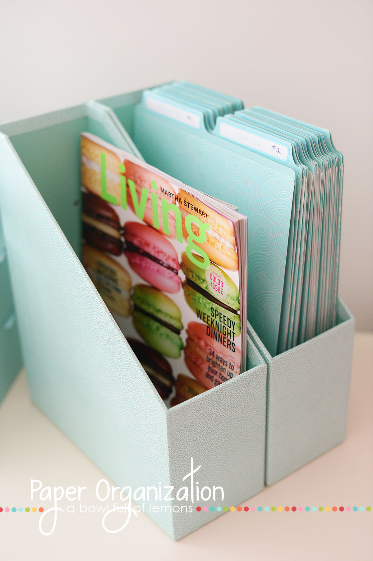Get Control Of The Paper Piles Once And For All With This