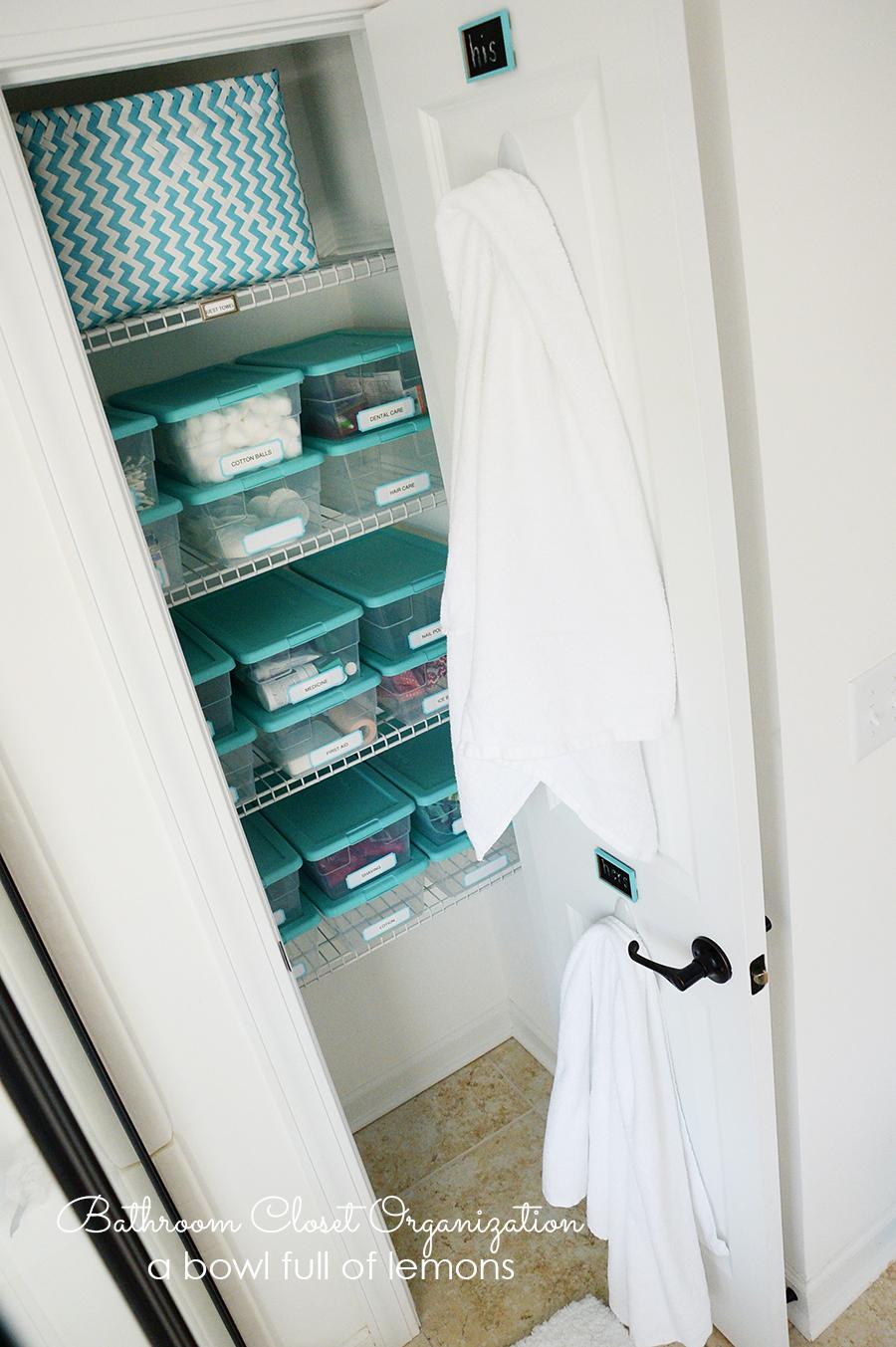Apartment Bathroom Organization Makeup Storage