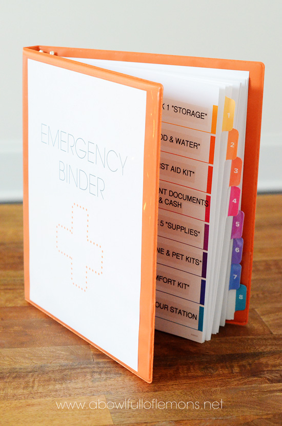 Emergency Preparedness Ebook 3 via A Bowl Full of Lemons